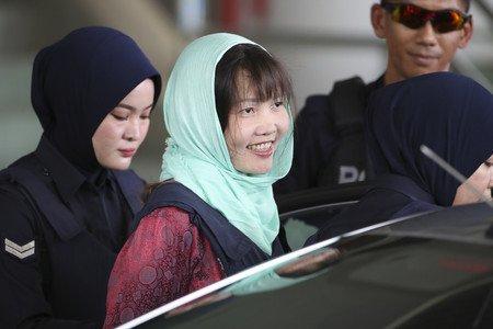 金正男さんをヤったベトナムの女さんが釈放されたらしい